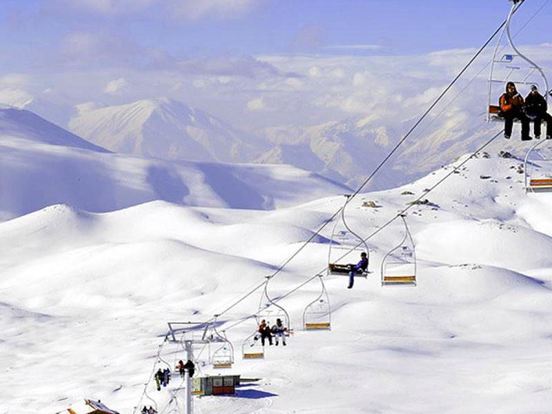 Ski resorts in Iran: Tochal