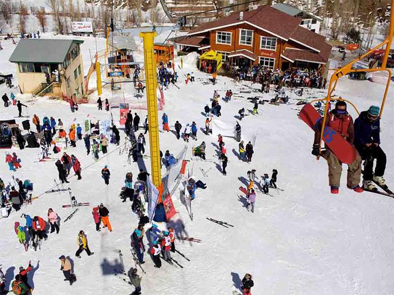 ski in Iran - Shemshak ski resort