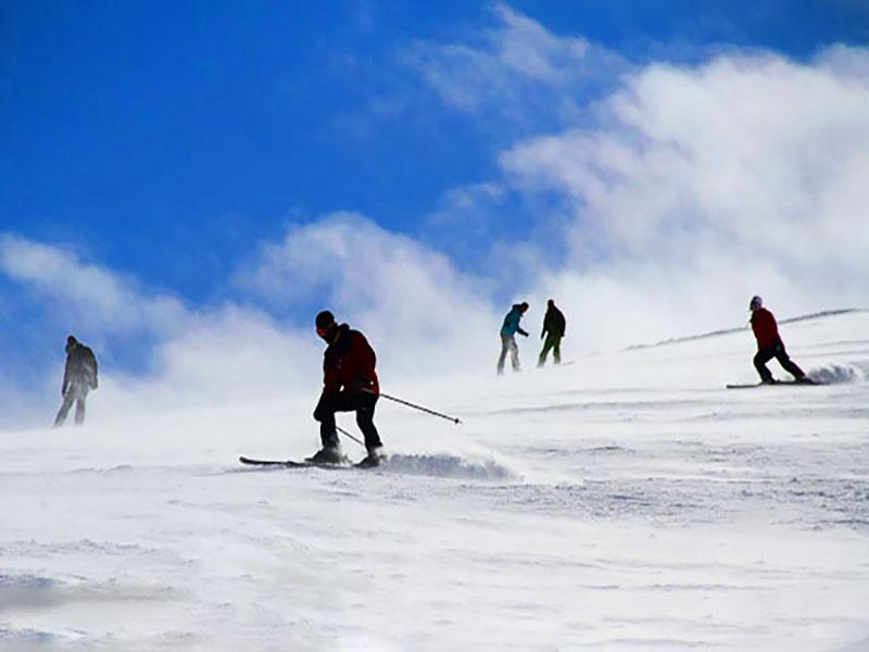 ski resorts in Iran: Sahand
