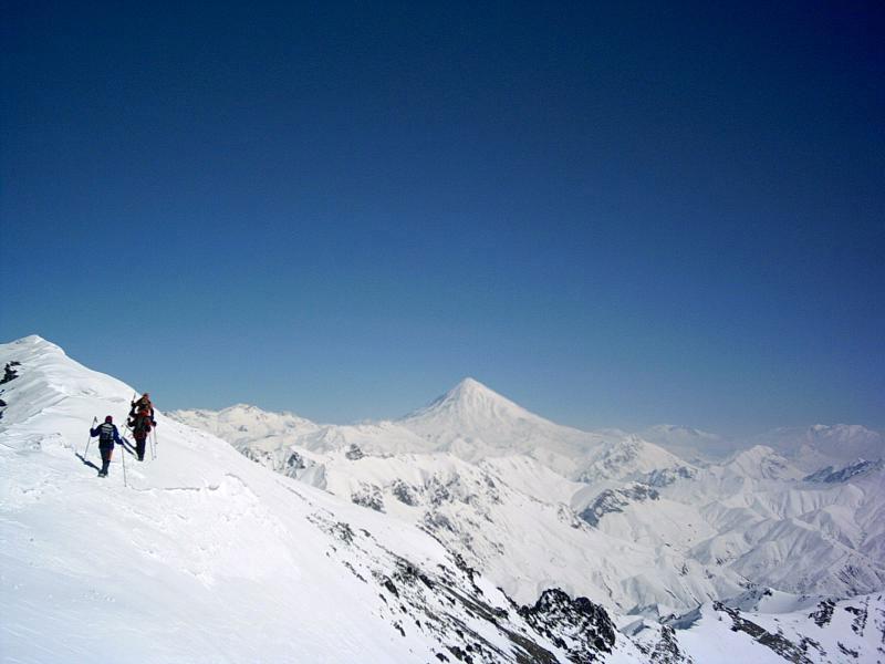climb Mount Damavand - Iran