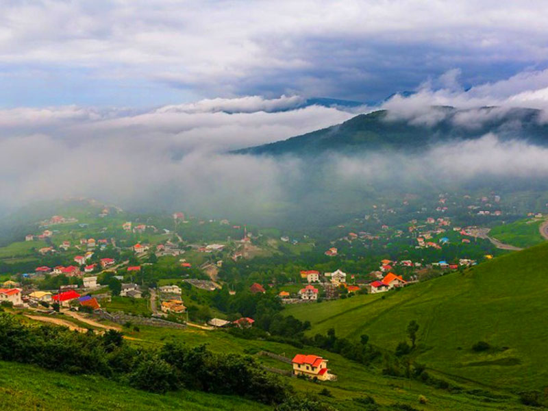 Asalem to khalkhal road