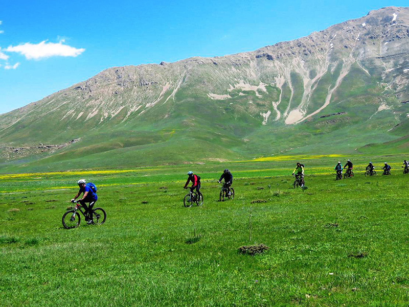 biking in Zagros