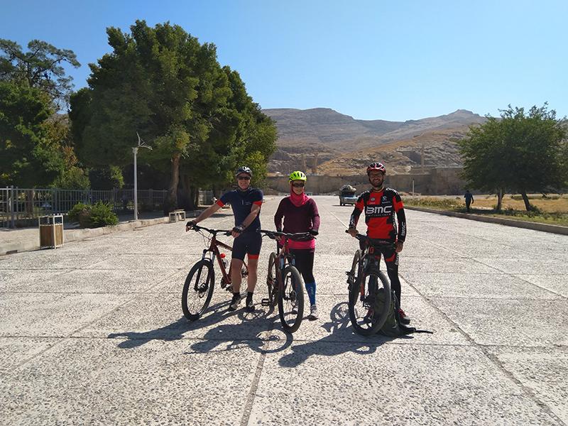 Iran cycling tour