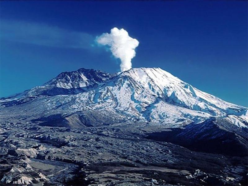 Taftan volcanic peak