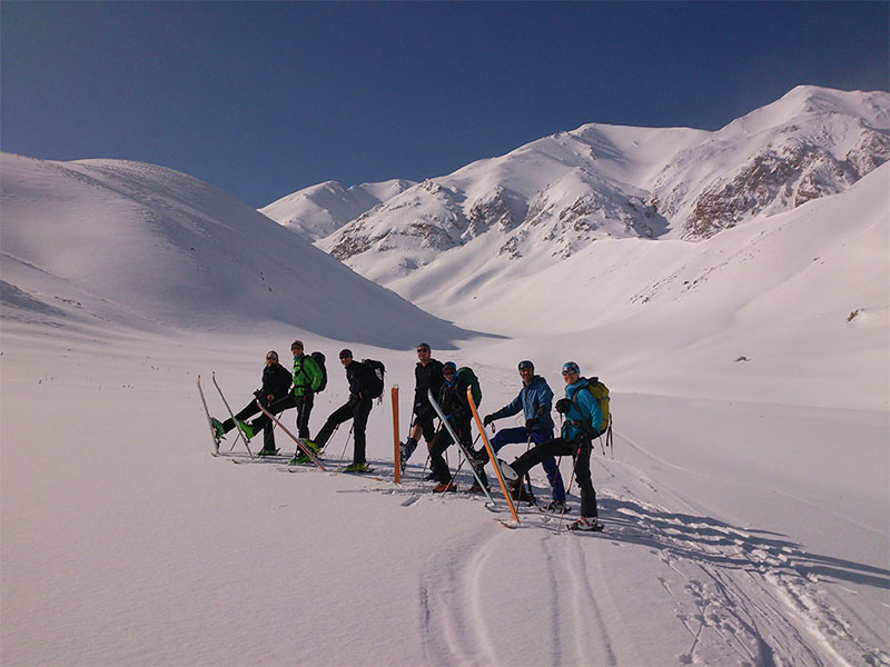 Ski-in-Zardkooh-Iran