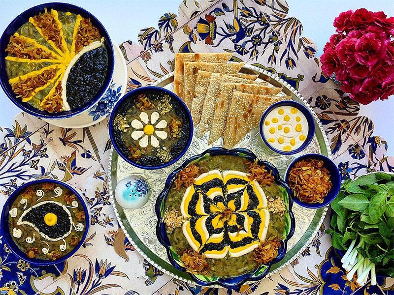 Ash reshte-Ramadan in Iran