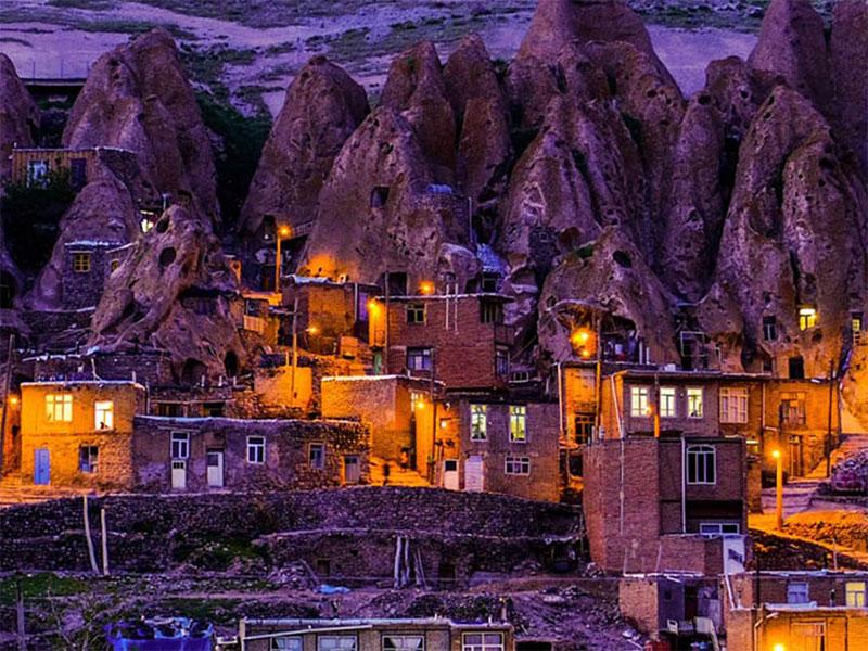 Kandovan-summer destinations in Iran