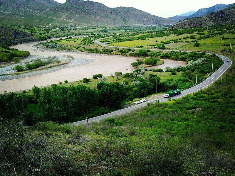 Longest rivers of Iran - Aras