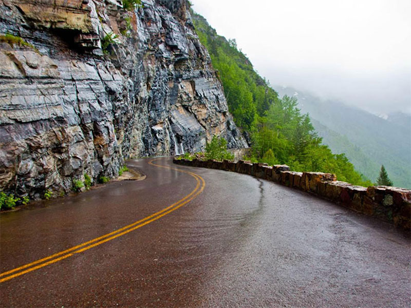 self-drive tours - Chaloos road - Iran