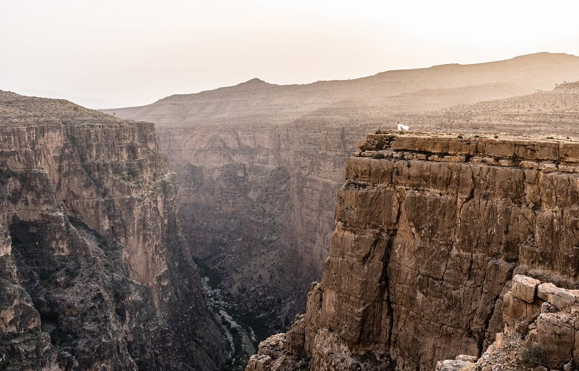 canyons in Iran: Hyghar Canyon